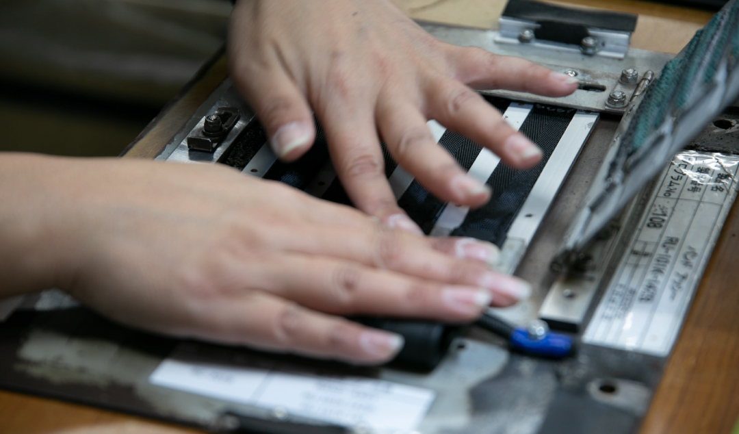 縫製治具 写真