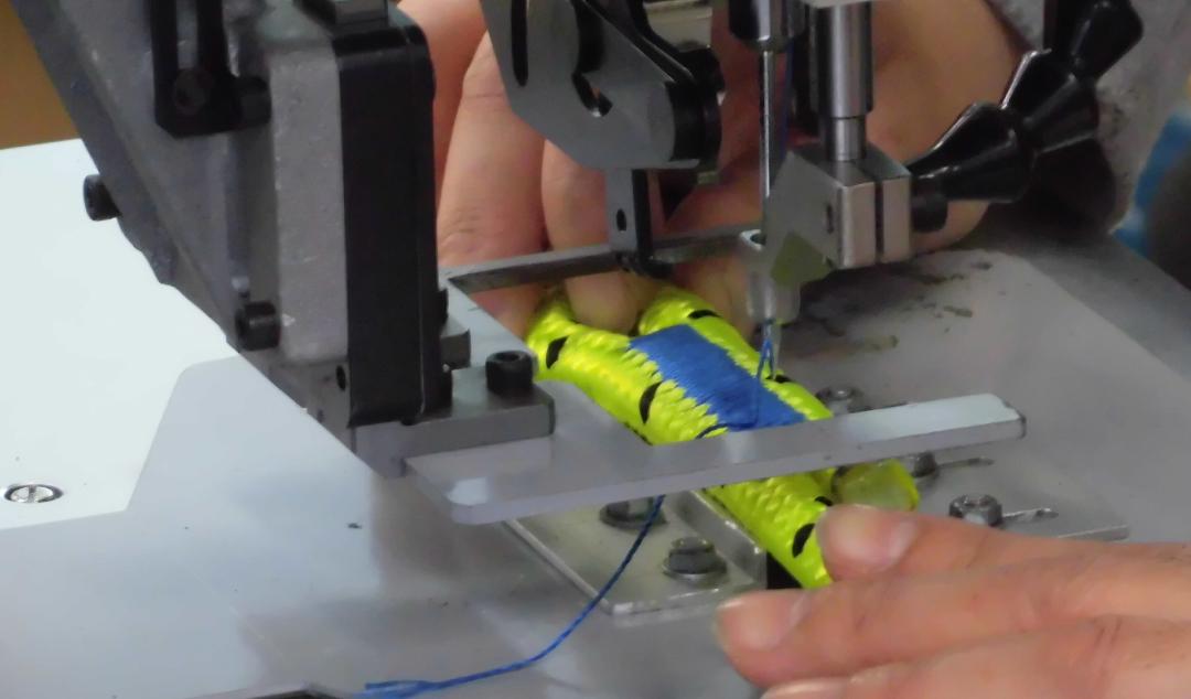 繊維ロープと縫製を組み合わせた新商品 イメージ写真