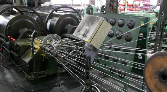 ロープ製造事業 写真