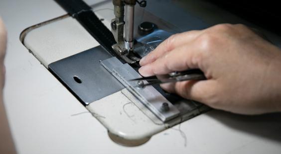 縫製加工事業 写真