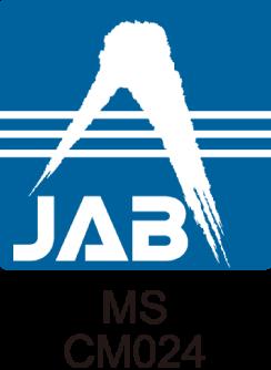 JAB 認定シンボル