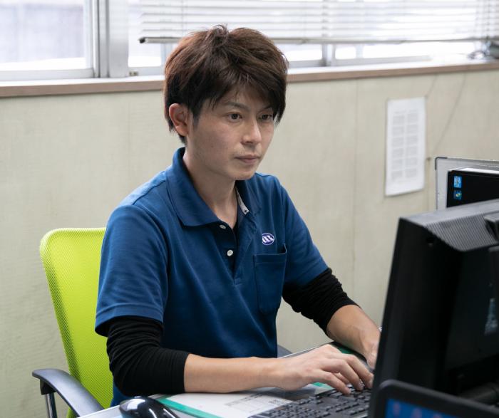 名古屋製鋼 社員の写真